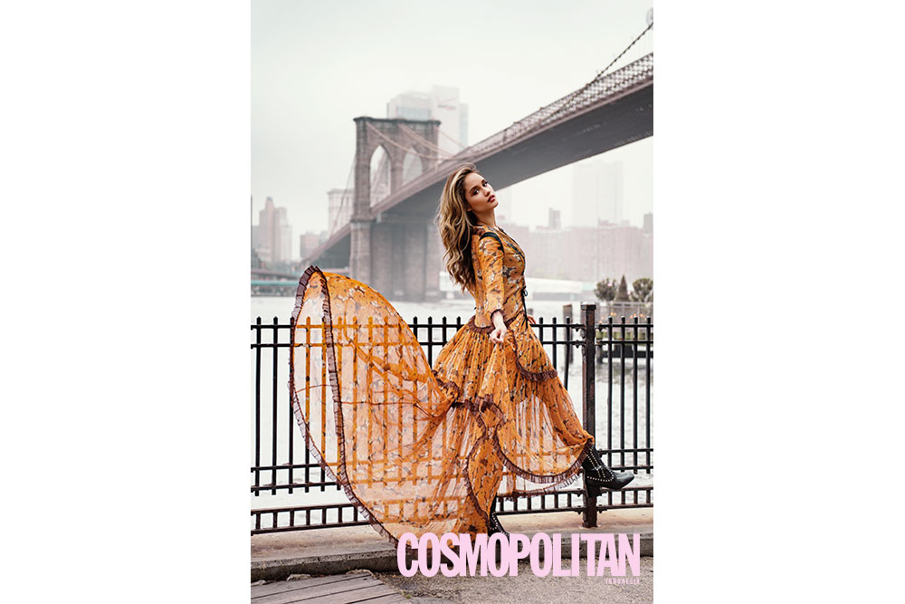 Cinta Laura di New York Fashion Week, exclusive interview dengan Cosmopolitan Indonesia