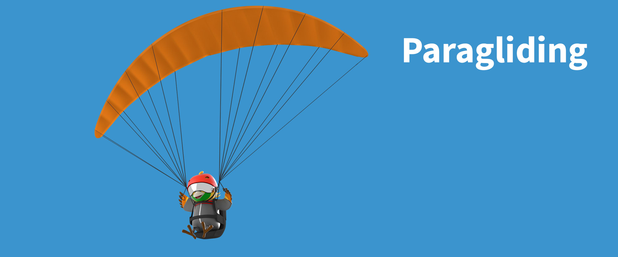 paragliding di asian games 2018