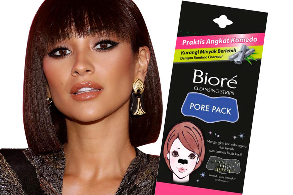 shay mitchell favorite beauty product biore deep cleanse pore strip