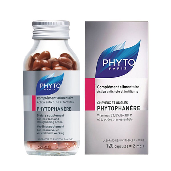 Phytophanère Dietary Supplement Hair&Nails - 120 Capsules