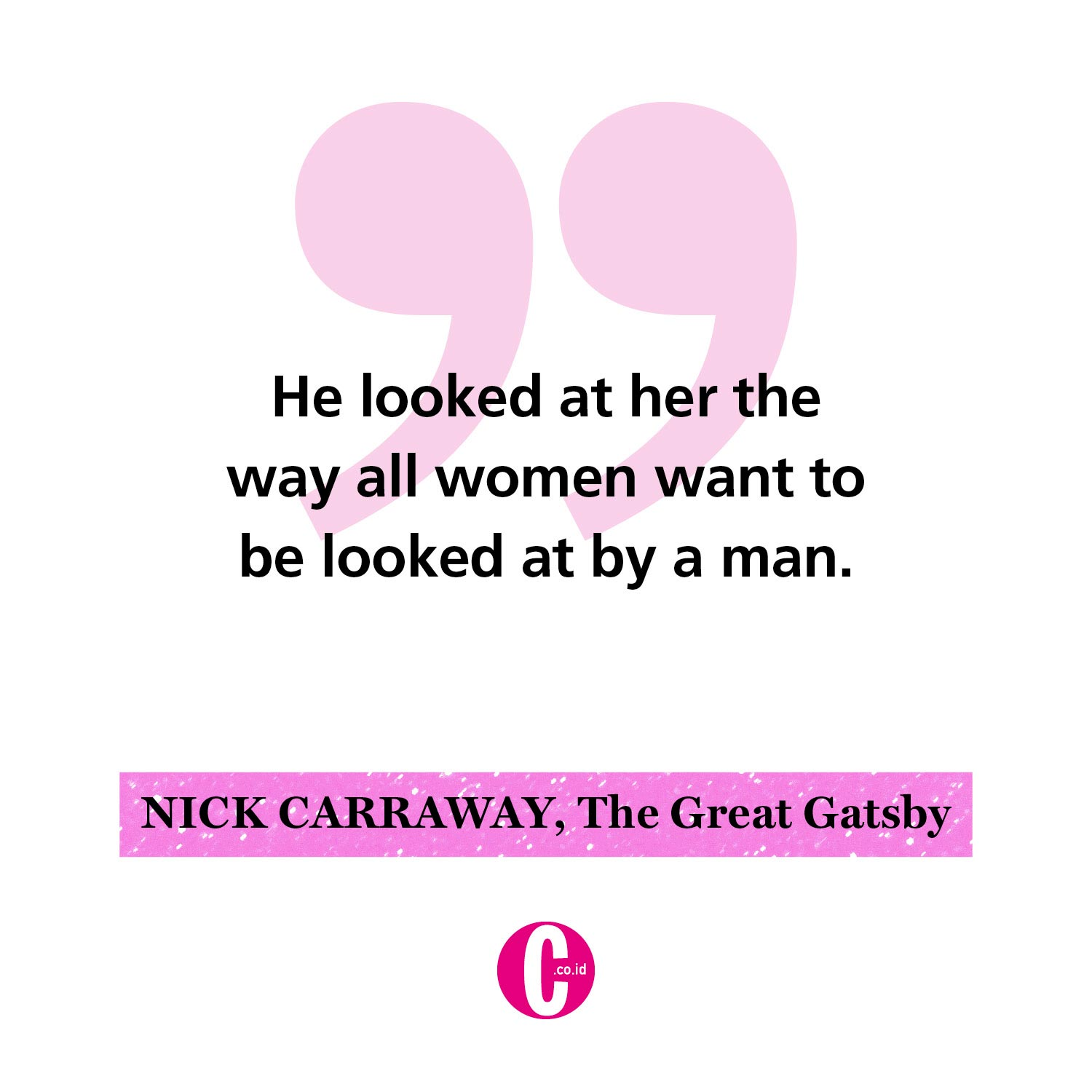 Kata-kata romantis dari Nick Carraway, The Great Gatsby