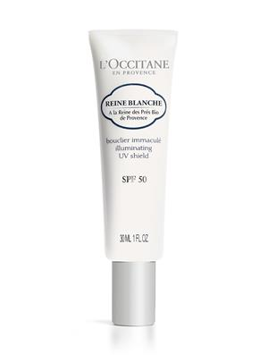 L'Occitane Reine Blanche Illuminating UV Shield SPF 50