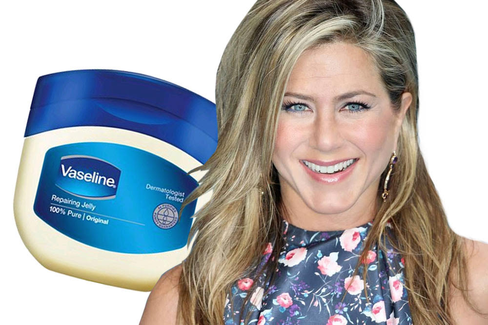jennifer aniston favorite beauty product vaseline