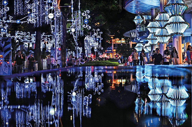 1. Christmas on a Great Street, Singapore