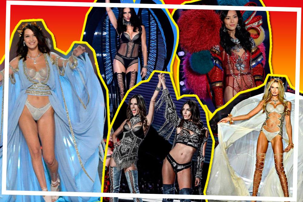 10 Look Favorit Cosmo di VS Fashion Show 2017!