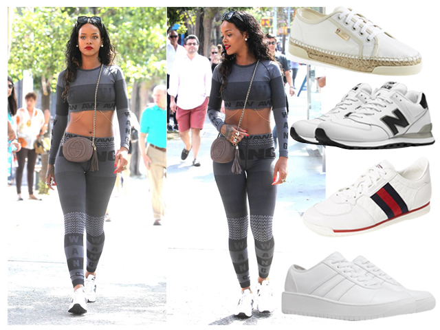 What to Wear: White Sneakers!