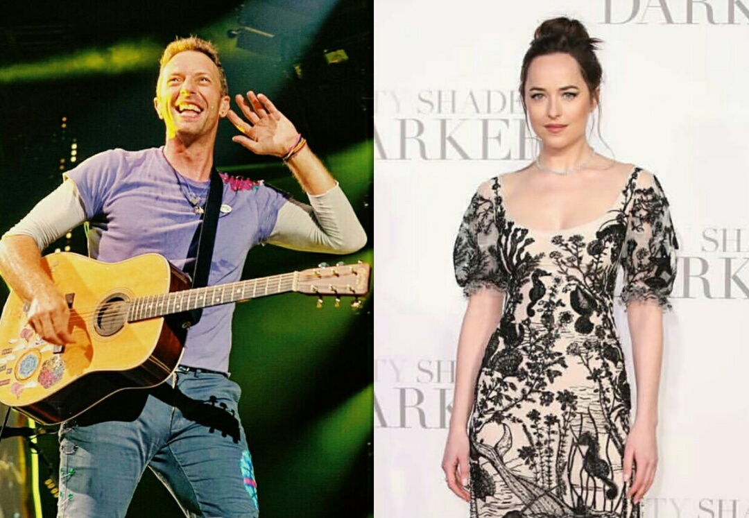 Chris Martin dan Dakota Johnson Pacaran?