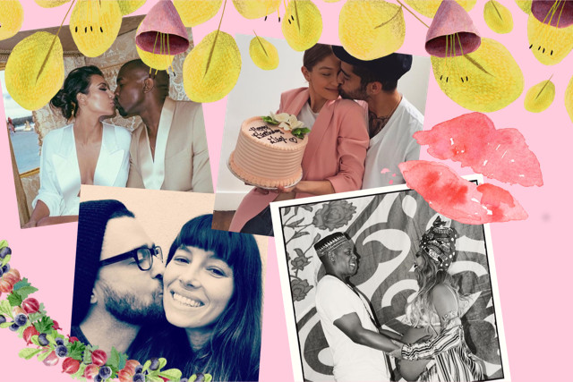 10 Postingan Instagram Hollywood Couple Paling Romantis