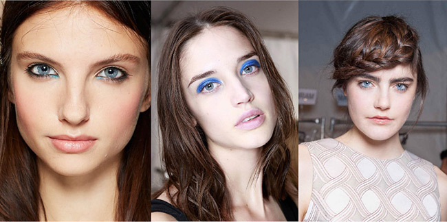 BLUE EYE MAKEUP FOR ELECTRIC SUMMER