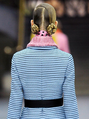 Double Braid Buns – Miu-Miu