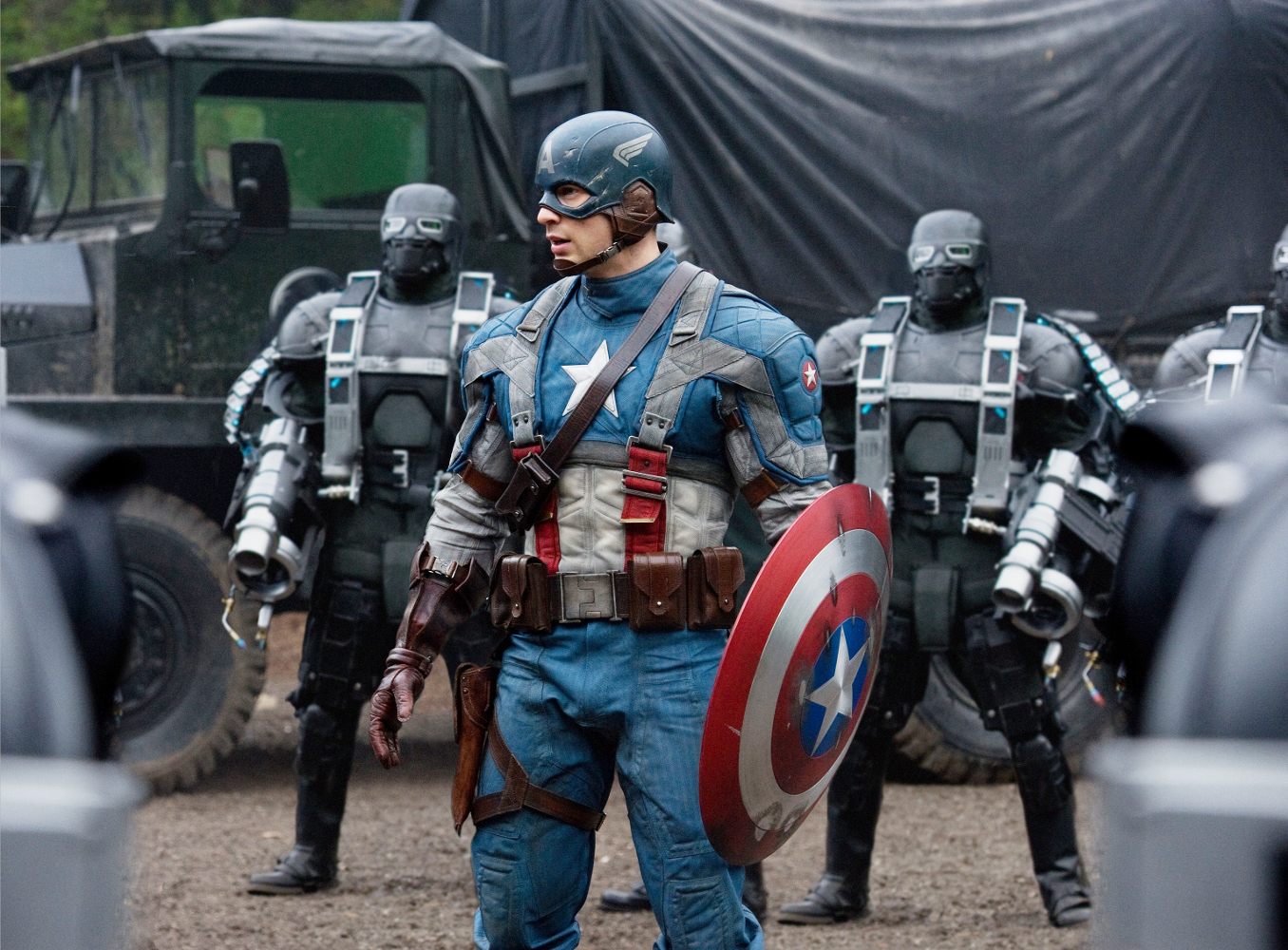 Captain America : An Absolute Blast From a Retro Hero