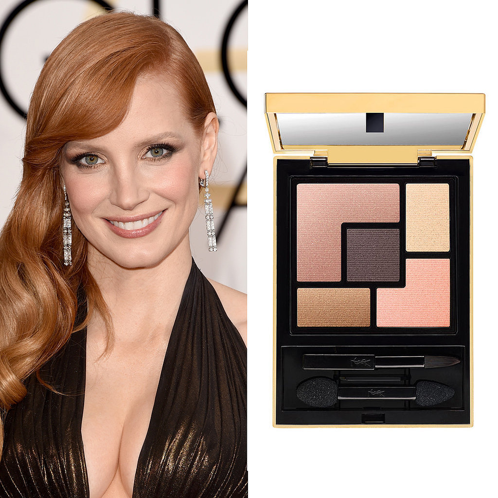 Jessica Chastain – Golden Globes 2015