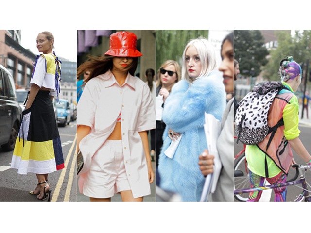 The Colorful London Bunch