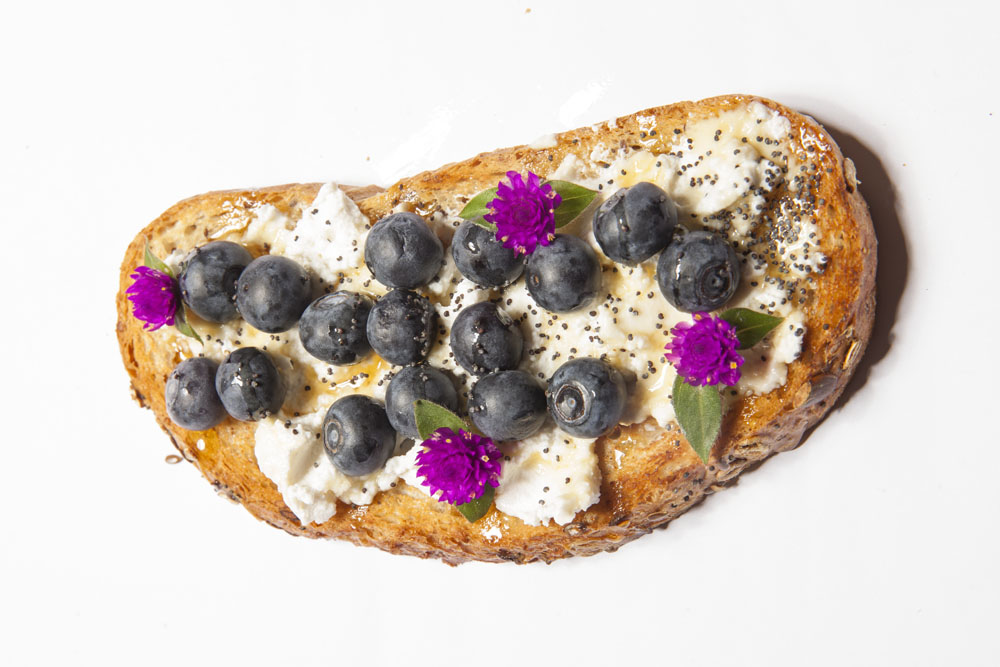 Resep Mudah Membuat Blueberry Cheese Toast