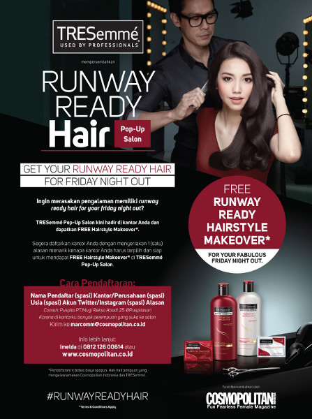 RUNWAY READY HAIR POP UP SALON