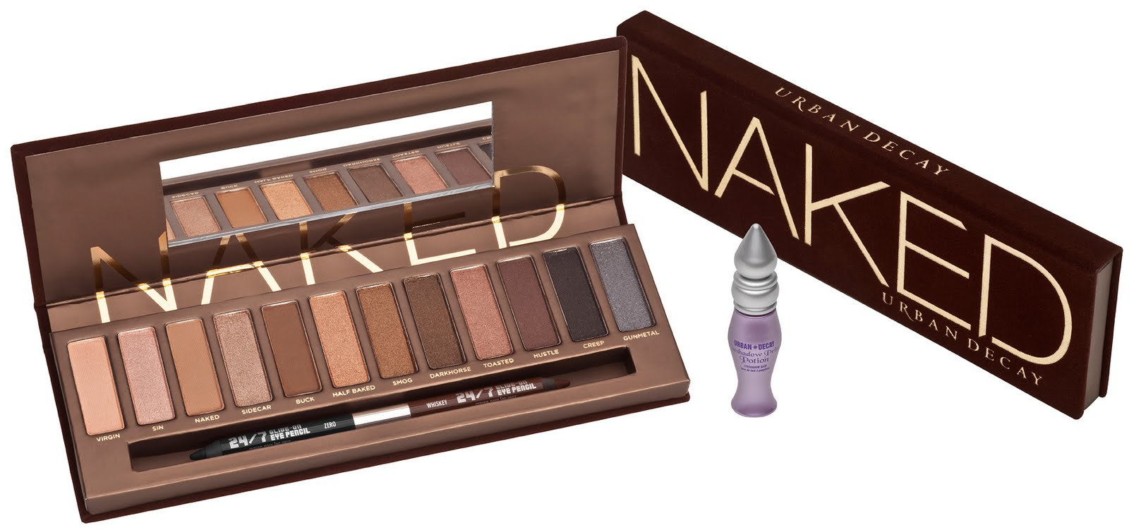 1. Urban Decay Naked Eyeshadow Palette