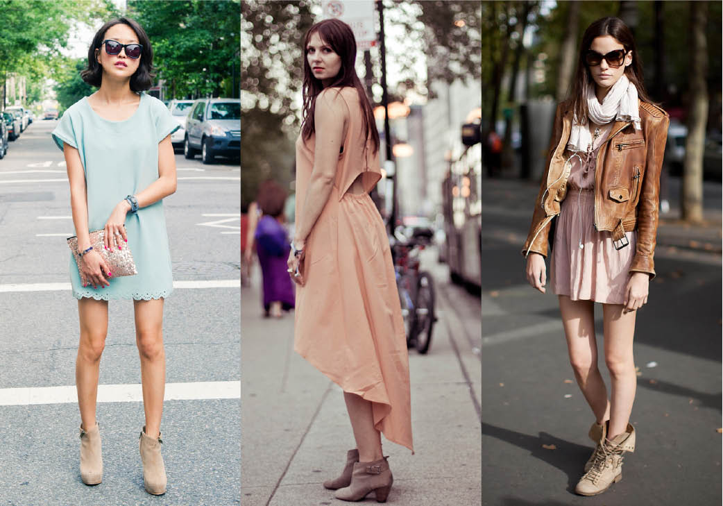 Pastel Ankle Boots
