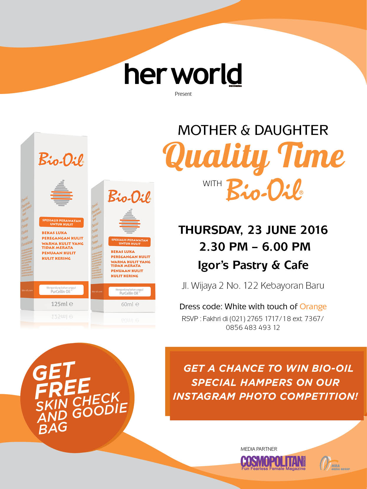 Mother & Daughter Quality Time with Bio-Oil