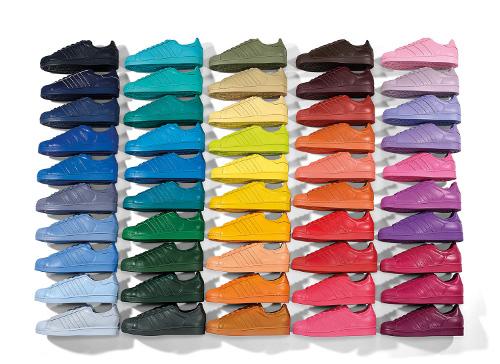 Adidas x Pharrel: 50 Color For Adidas Original