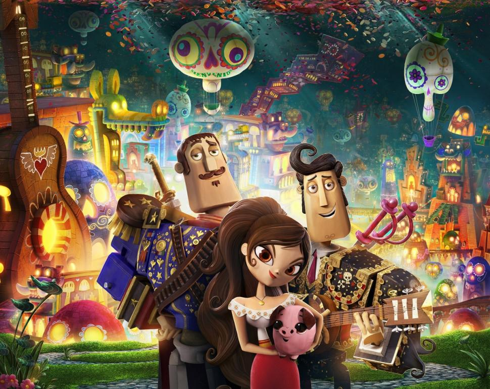 The Book of Life: Cinta Segitiga Channing Tatum, Diego Luna, & Zoe Saldana