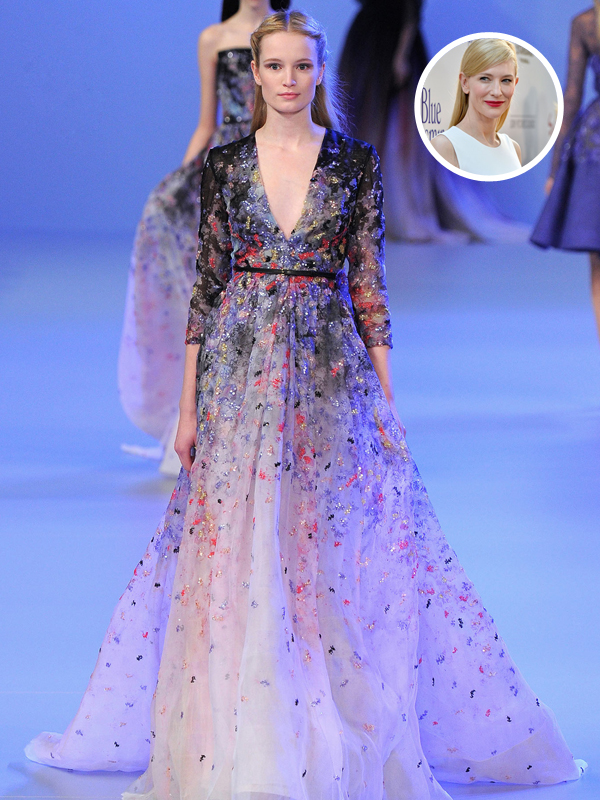 Cate Blanchet mengenakan Elie Saab Couture
