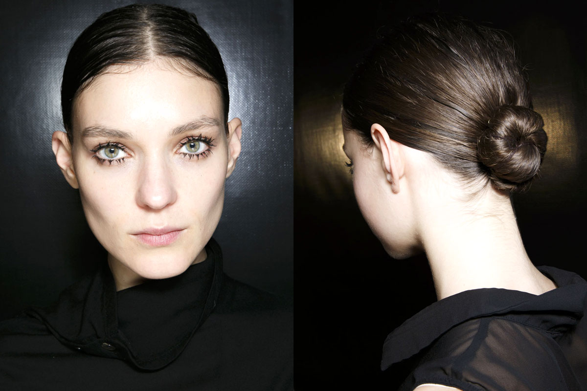 Sleek Chignon – Prada