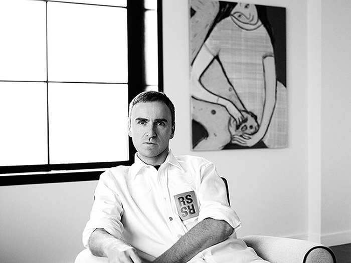 Raf Simons Jadi Chief Creative Officer Calvin Klein
