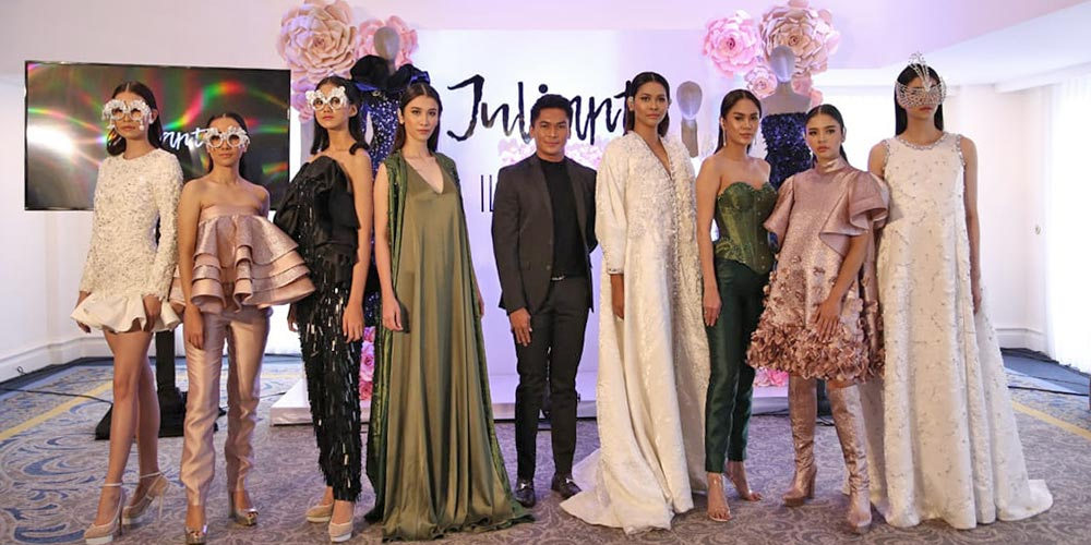 Koleksi Busana Julianto di New York Fashion Week