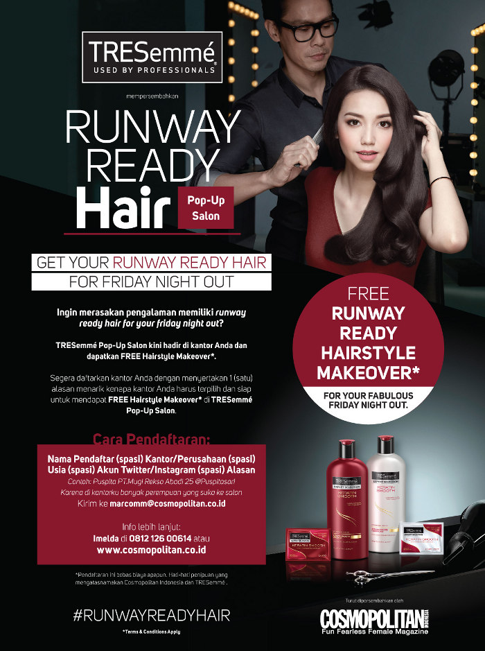 GET YOUR RUNWAY READY HAIR FOR FRIDAY NIGHT OUT