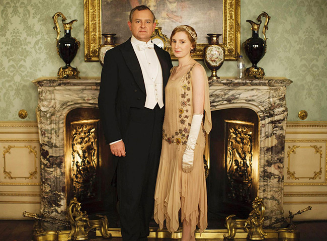 Poster serial TV Downtown Abbey
