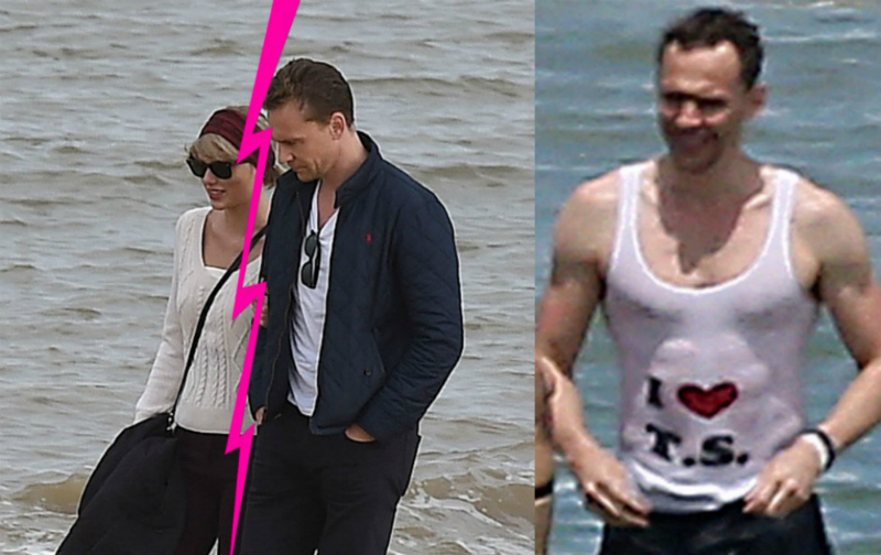 "Tom Hiddleston Bicara Taylor Swift dan Kaus ""I <3 T.S."