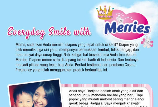 Everyday Smile with MERRIES