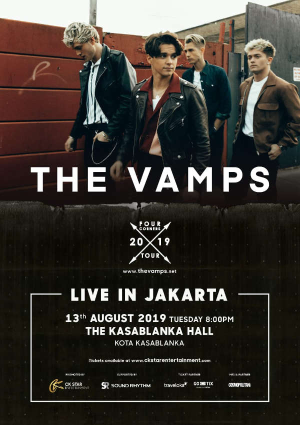 The Vamps Live in Jakarta
