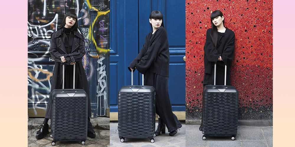Samsonite dan Kozue Akimoto Luncurkan POLYGON Collection!