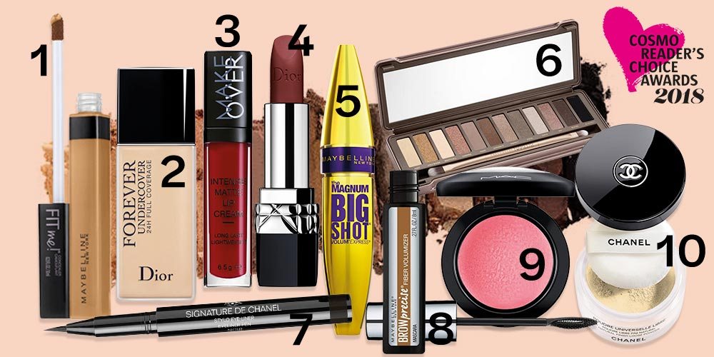Cosmo Reader's Choice Awards 2018: Best Makeup