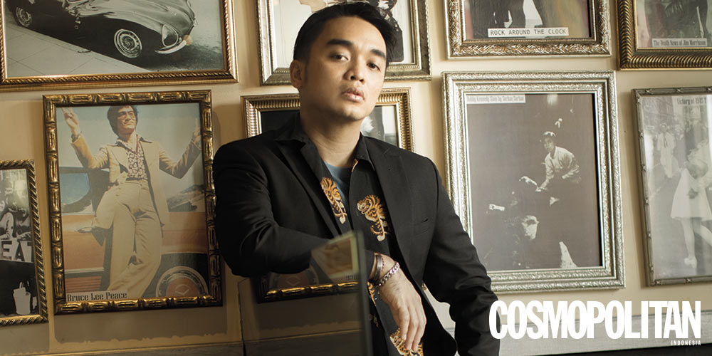Cosmopolitan Exclusive Interview dengan Dipha Barus
