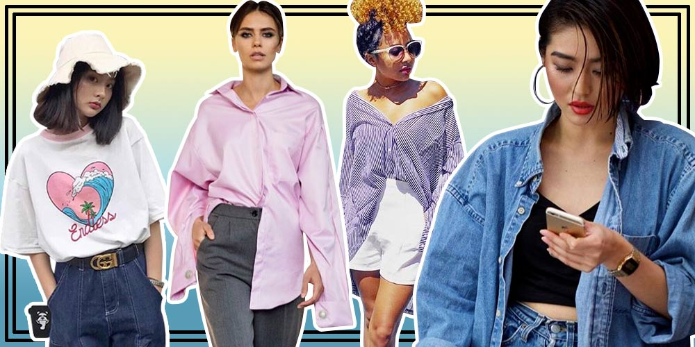 Tips Mix and Match Dengan Oversize Shirt