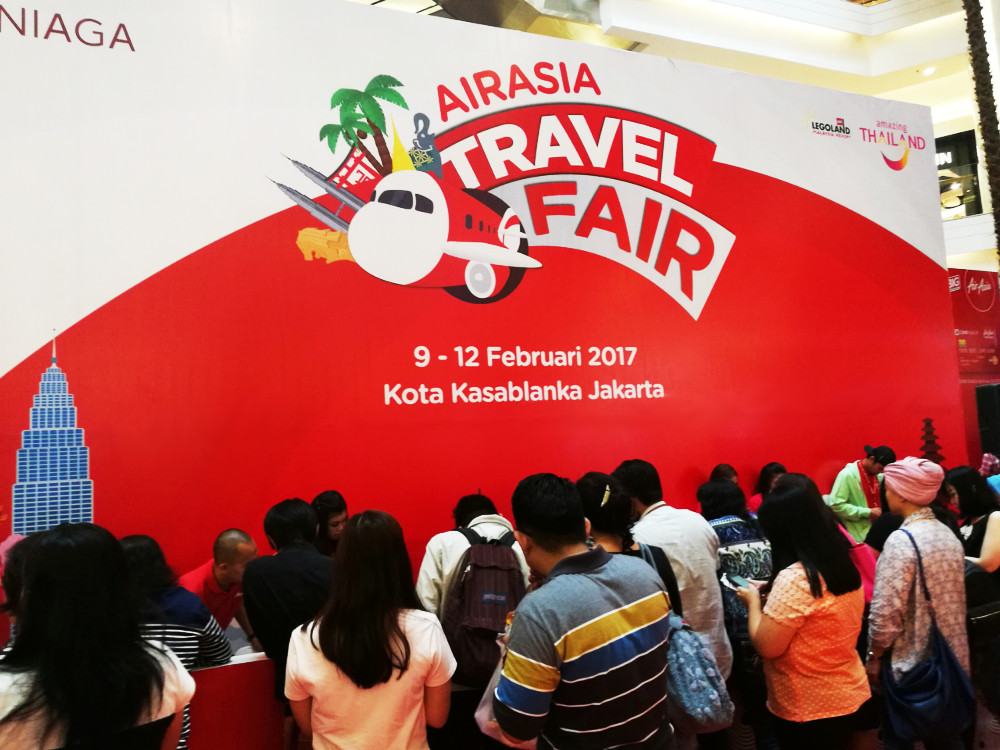 Berburu Tiket Murah di AirAsia Travel Fair 2017
