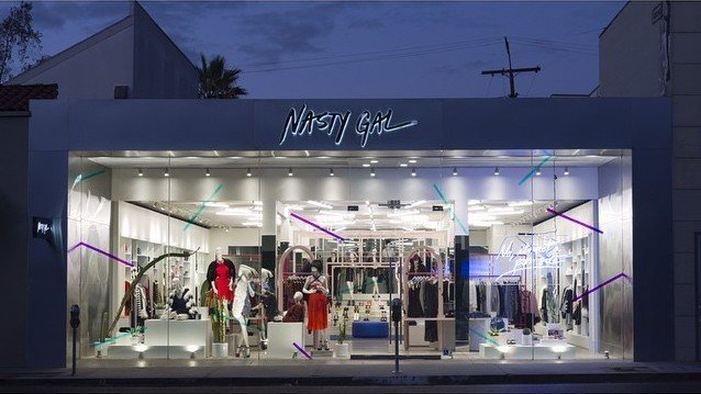Fashion Retailer Nasty Gal Dilelangkan