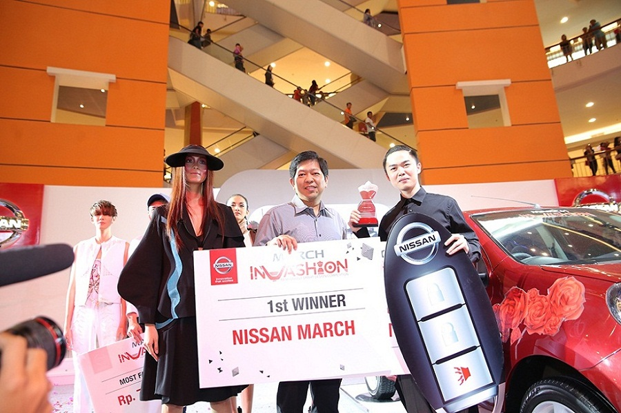 Fashionably Smart with Nissan March InVashion