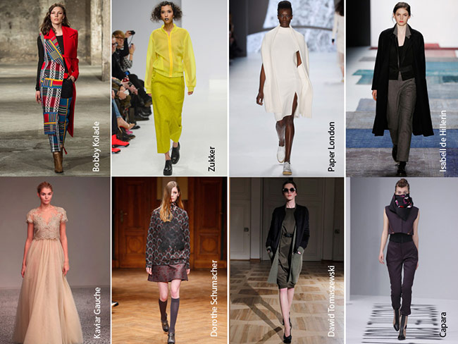 REPORTASE BERLIN FASHION WEEK FALL 2015