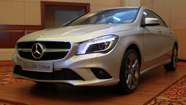 "Mercedes-Benz Perkenalkan ""The Untamed"" CLA-Class"