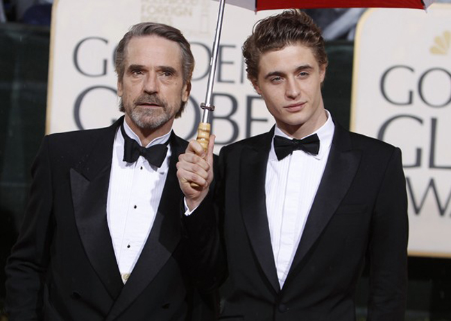 Jeremy Irons & Max Irons