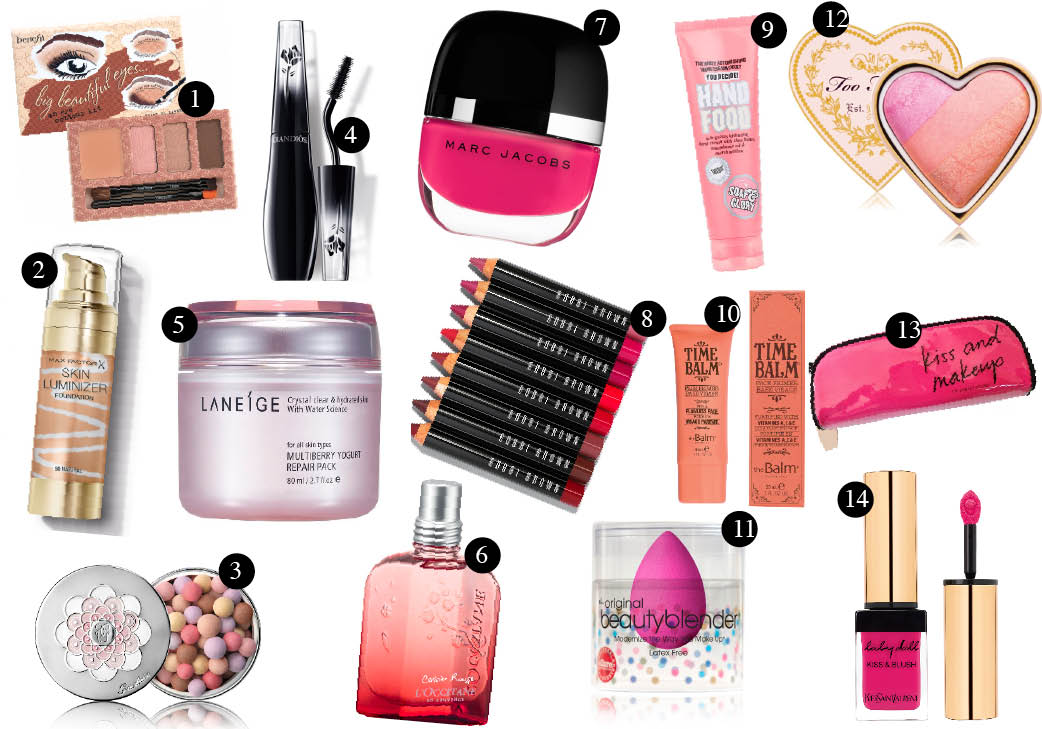 Valentine Shopping: 14 Beauty Must-Have!