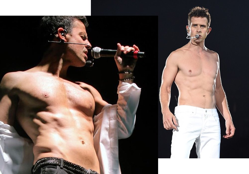 Ough.. HOT! Personil NKOTB Pamer Perut Six Packs!