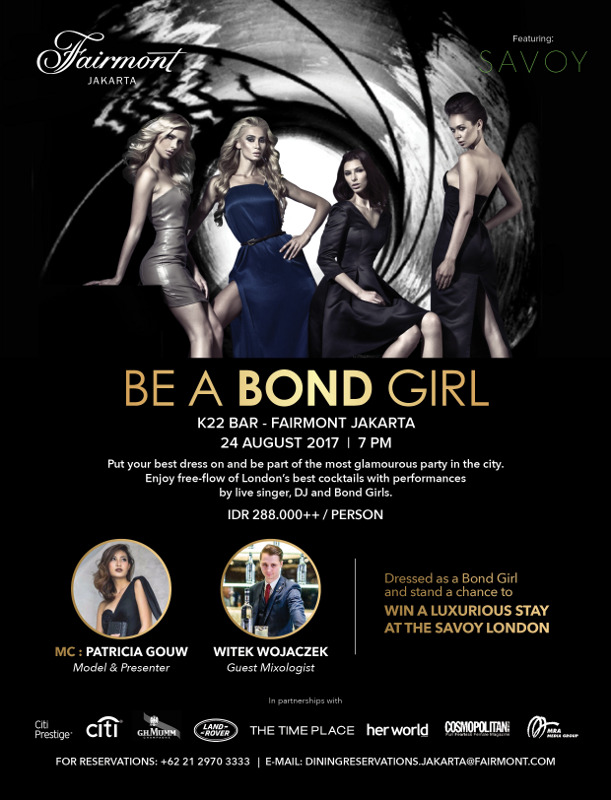 BE A BOND GIRL