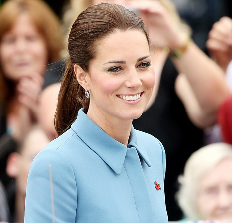 The Duchess of Cambridge's Hair: Contek Gaya Rambut Kate Middleton
