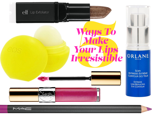5 Ways To Make Your Lips Irresistible