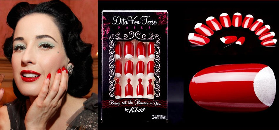 """The Newest """"Nail"""" By Dita Von Teese"""