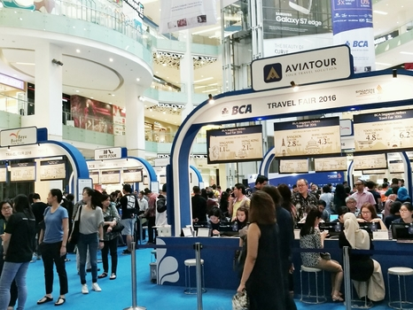 Tiket Murah di Singapore Airlines BCA Travel Fair 2016